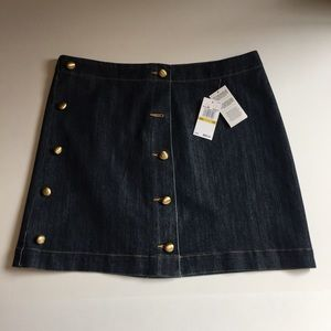 Michael Kors Denim Skirt NWT